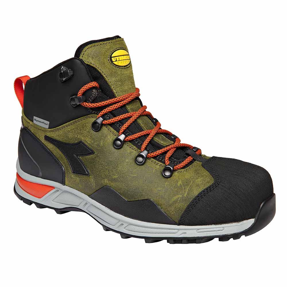 Scarpe Antinfortunistiche Diadora D Trail Leather Hi S3 HRO